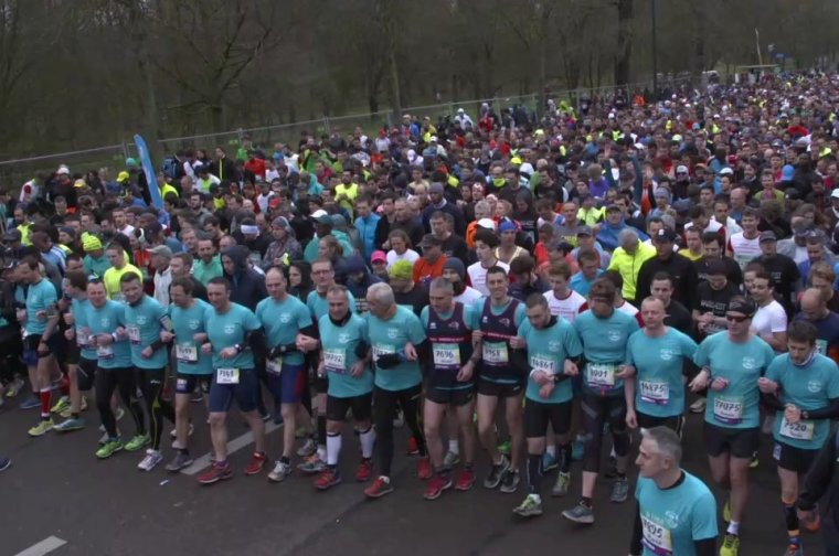 Le marathon SRI CHINMOY après le semi marathon du Paris