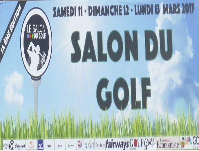 Le salon du golf 2017