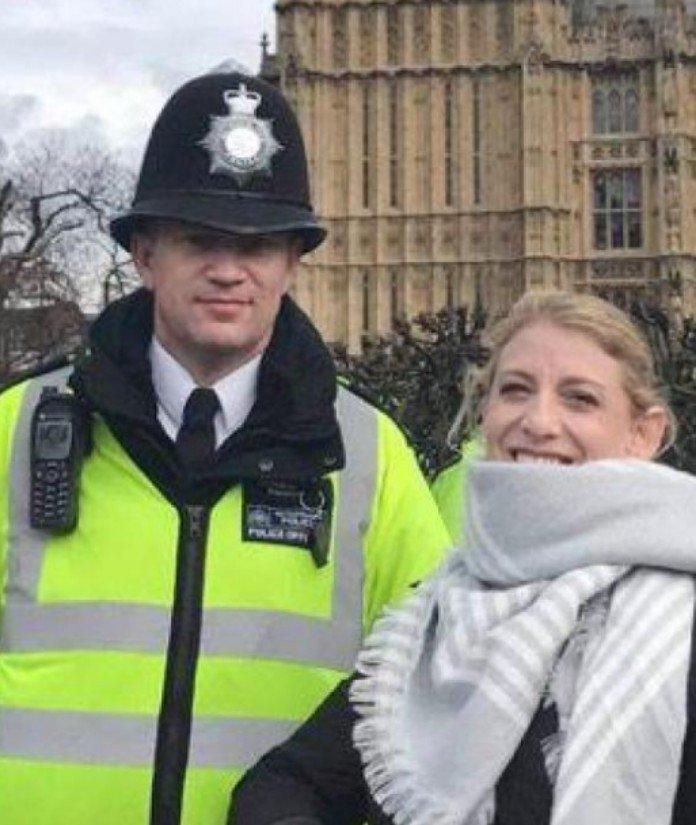 """Attentat à Londres: Une heure avant sa mort, """"dernière photo"""" du policier   Keith Palmer"""