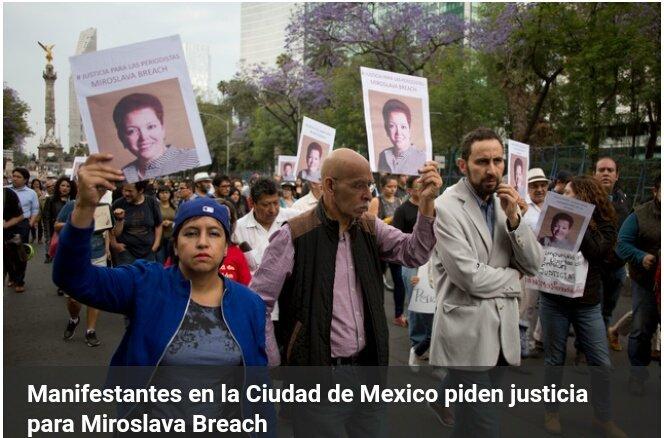 Mexique: le troisième pays plus dangereux au monde pour les journalistes