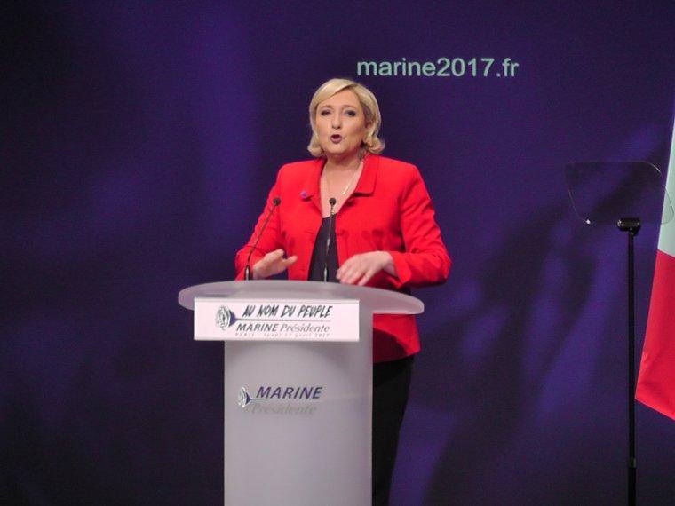 Le combat sur l'immigration reste le cheval du bataille de Marine Le Pen