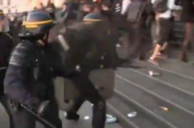 Après la manifestation à Paris, 29 individus placés en garde à vue