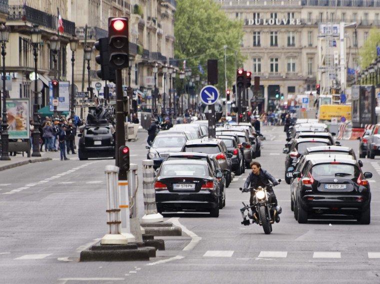 Tom Cruise est à Paris pour le tournage de MI6