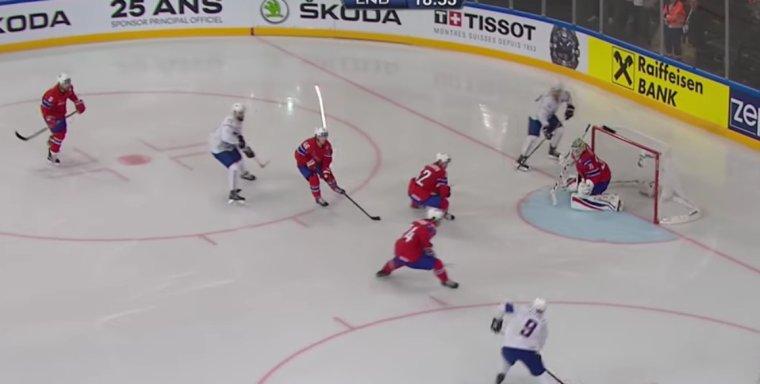 Ouverture du 81 ème championnat du monde de Hockey sur glace à l'Arena de Paris