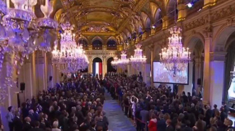 Une journée de dimanche très chargée pour le président investi, Emmanuel Macron