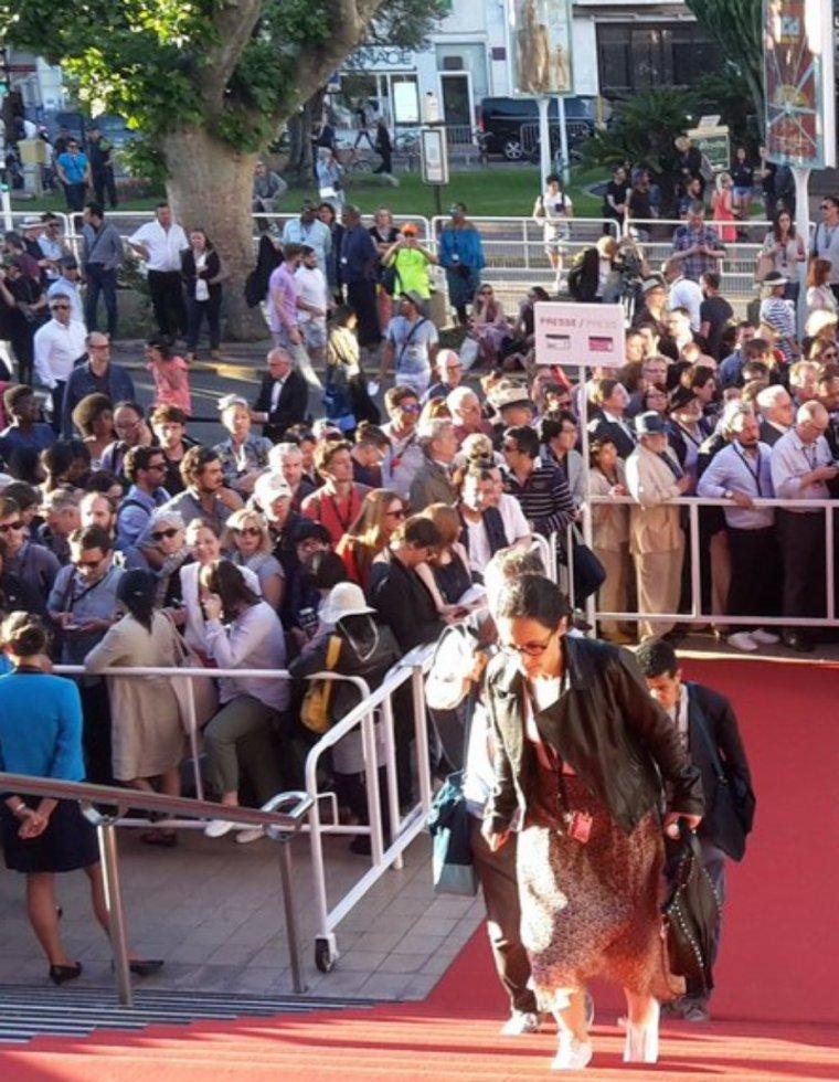 Le palais du festival de Cannes brièvement évacué à cause d'un colis suspect