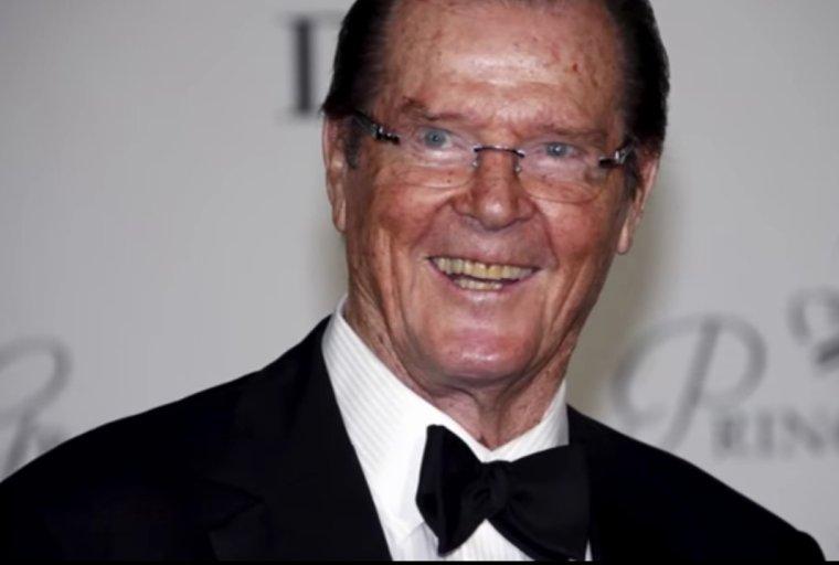 Sir Roger Moore est décédé à l'âge de 89 ans