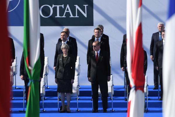 Premier sommet de l'Otan de Trump avec les dirigeants des 28 pays