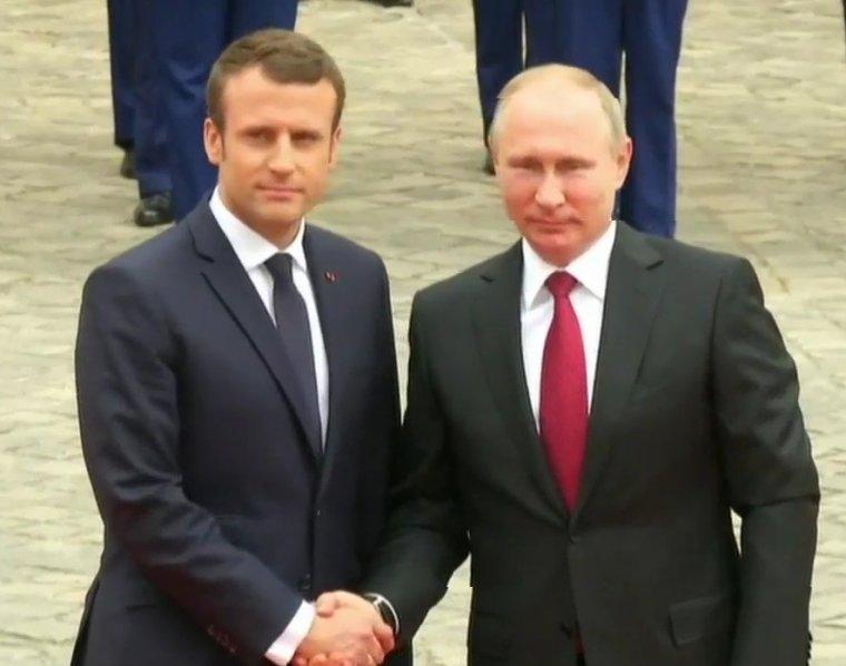 Emmanuel Macron et Vladimir Poutine se sont rencontrés, pour un dialogue «sans concession»