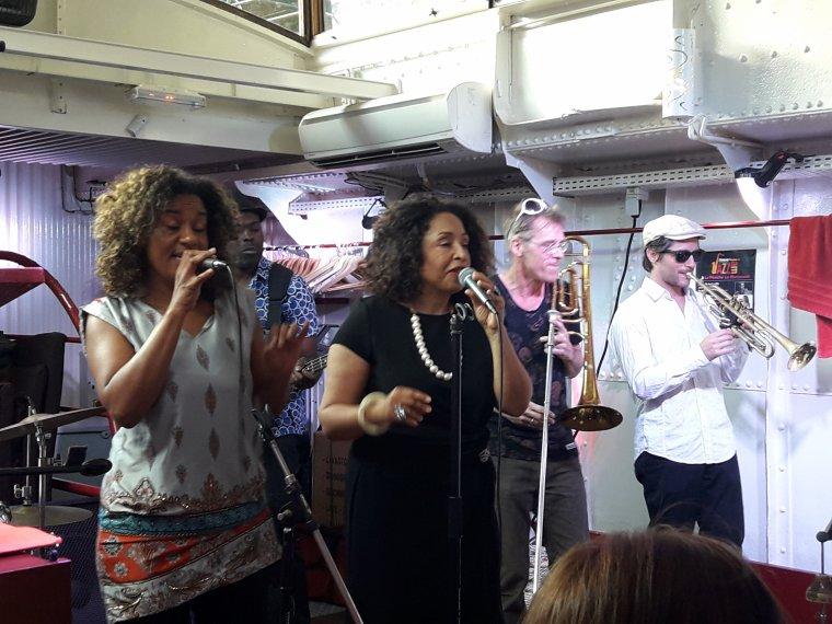 Abyale, la reine du jazz a donné son dernier concert à Paris le 4 juin