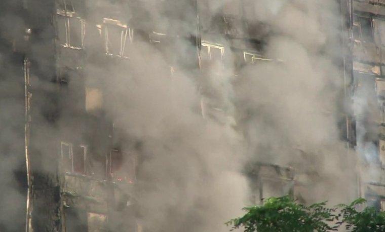 Londres: Le gigantesque incendie de la tour de 27 étages a donné 6 morts