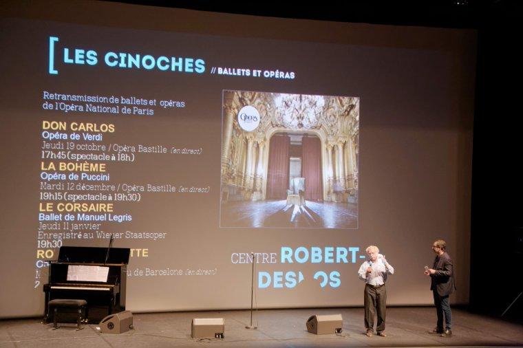 La Soirée de présentation de la saison culturelle du Centre Culturel Robert Desnos 2017/2018