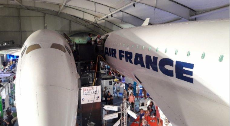 Le salon International de l'Aéronautique et de l'Espace 2017 au Bourget