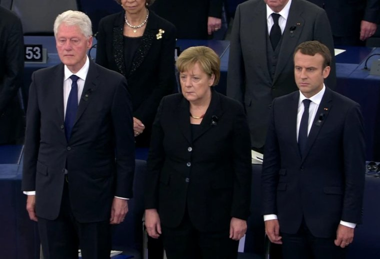 L'europe a rendu l'hommage à Helmut Kohl