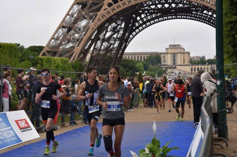 La 11ème édition du Triathlon de Paris