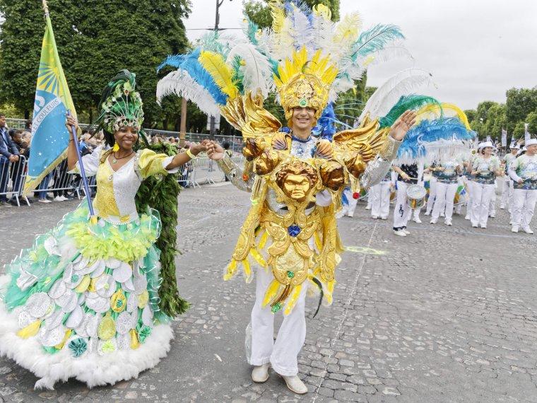 Paris aux couleurs du Carnaval Tropical