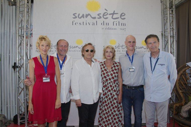 Inauguration du Sunsète Festival du Film de Sète, 2 édition 2017 Plage Côté Mer