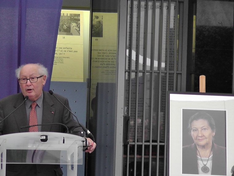 Hier soir le Mémorial de la Shoah et la communauté juive ont dédié une hommage à Simone Veil