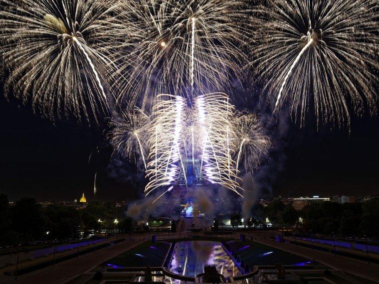 Le plus beau feu d'artifice sous le signe des Jeux olympiques 2024