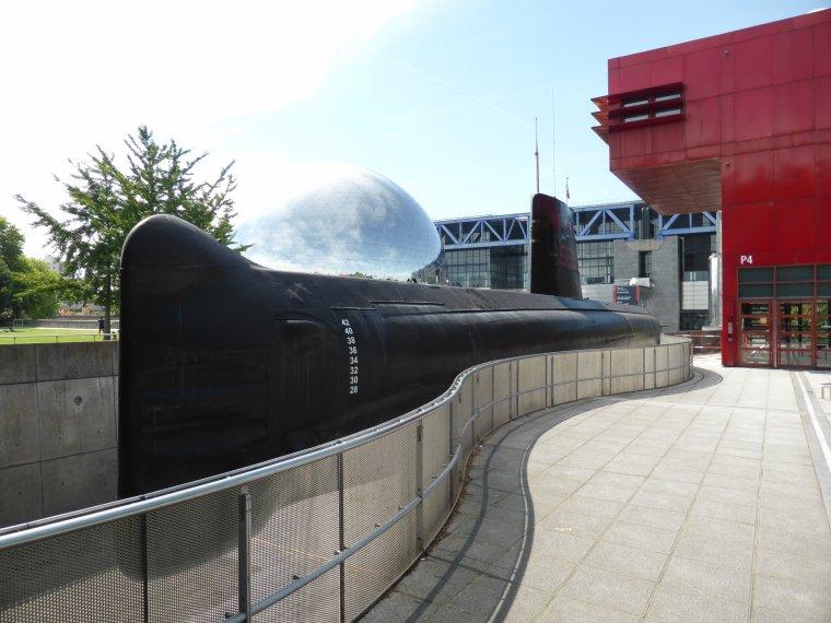 Visite du sous-marin de chasse Argonaute à la Villette