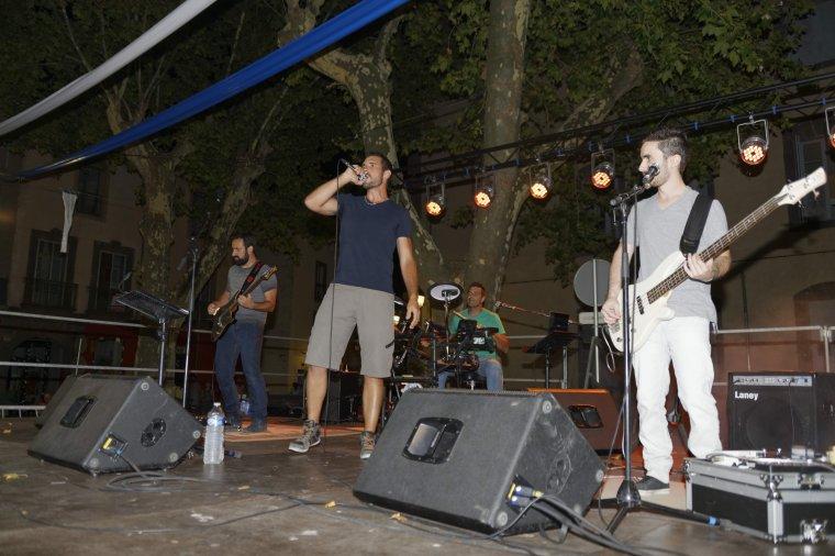 The Casuals se sont produits en concert, Place de la Marine à Agde, le 16 juillet 2017
