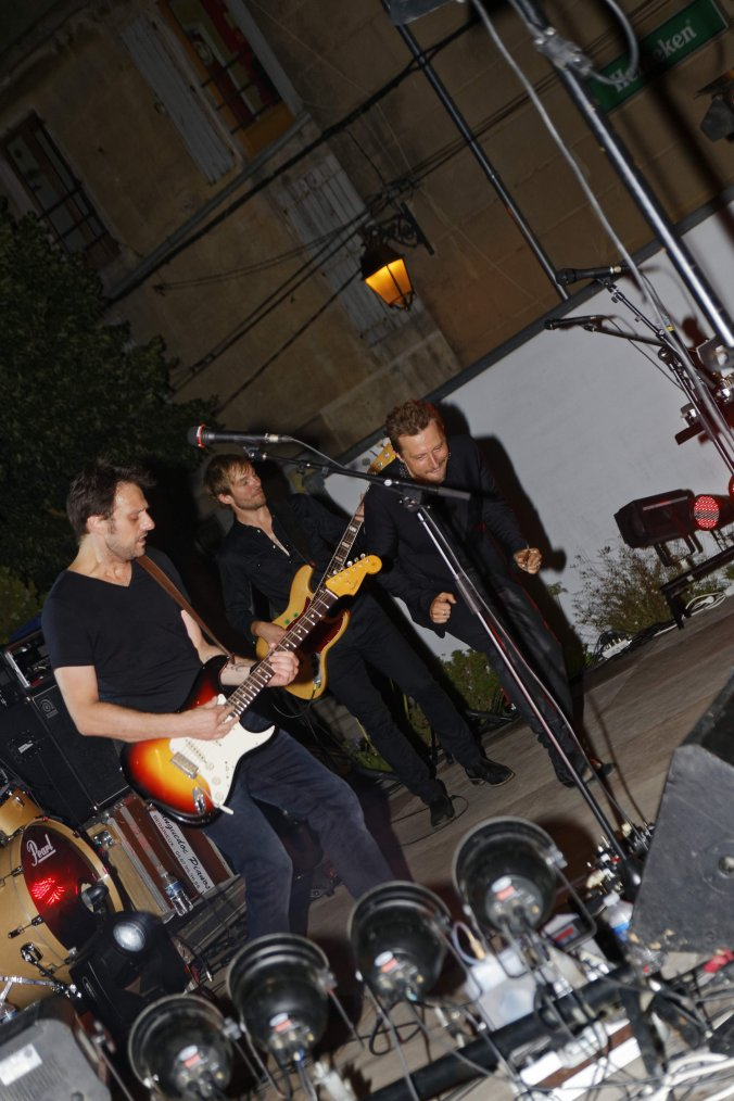 Greg Zlap s'est produit en concert à Agde