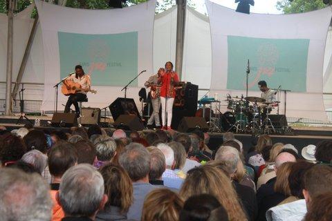 Voici le concert qu'il ne fallait pas rater ce dimanche à Vincennes: Lisa:Simone