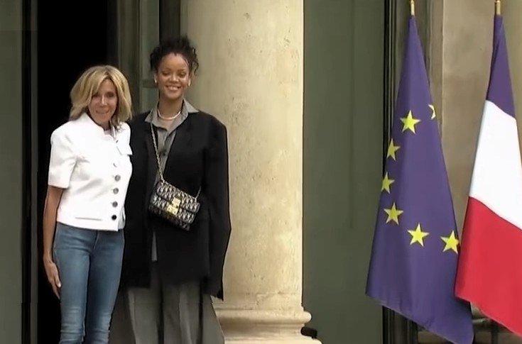 Une semaine très people: Bono et Rihanna ont étais reçus à l'Elysée afin de promouvoir le Partenariat mondial pour l'éducation