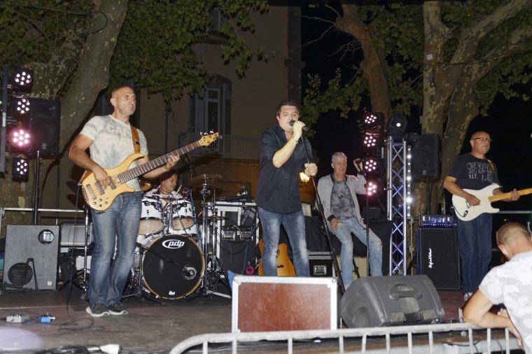 The Five s'est produit en concert à Agde, Place de la Marine