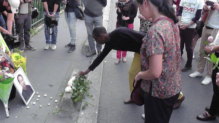 Hommage au couturier Zhang Chaolin à Aubervilliers