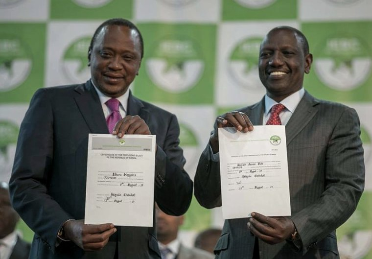 AFFRONTEMENTS AU KENYA APRES LA REELECTION D'UHURU KENYATTA