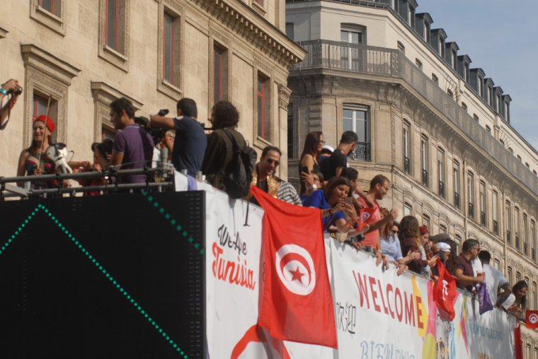 La 19e édition de la Techno Parade envahissent les rues de la capitale