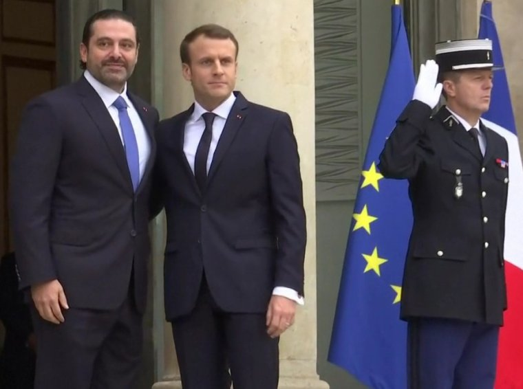 Saad Hariri et Emmanuel Macron les initiatives nécessaires pour la stabilité du Liban