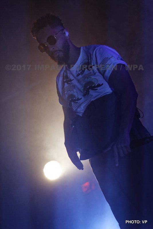 Disiz la Peste s'est produit en concert au Plan à Ris-Orangis en Essonne