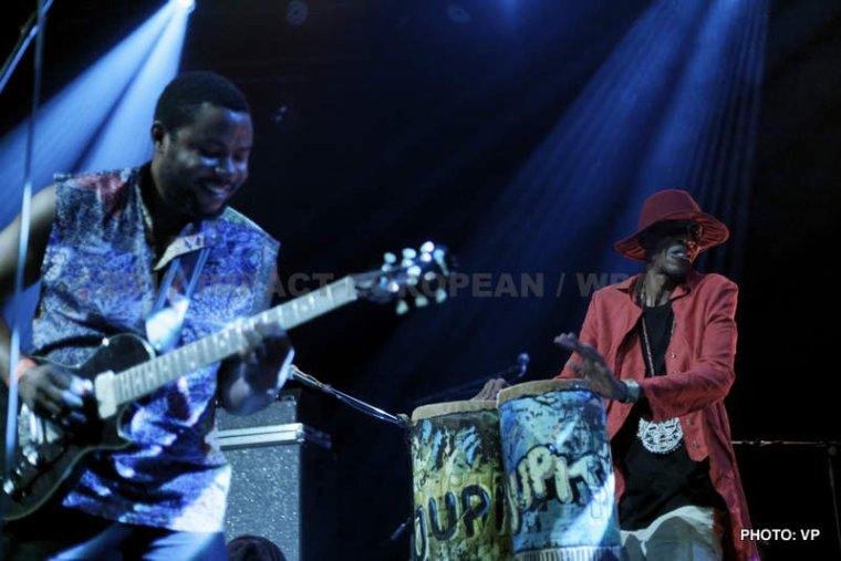 Jupiter & Okwess International se sont produits en concert au Plan