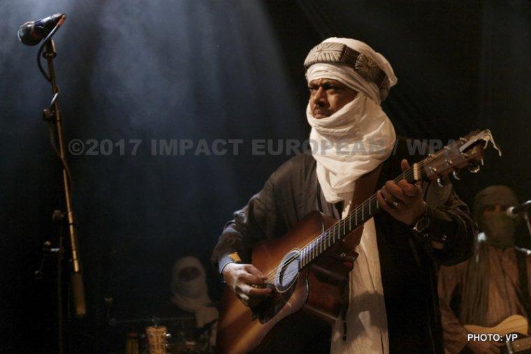 Tinariwen s'est produit en concert au Plan en Essonne