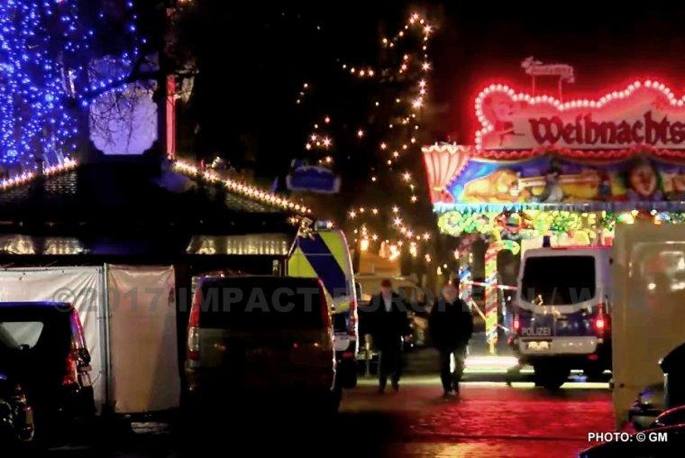 Berlin: le marché de Noël ou seulement la pharmacie visé d'un paquet livré ...