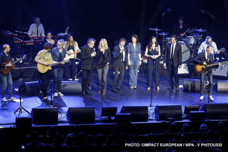Concert Exceptionnel lors du XIII Gala de Bienfaisance sur la Recherche sur la maladie d'Alzheimer à la Salle Pleyel à Paris le 12 février 2018