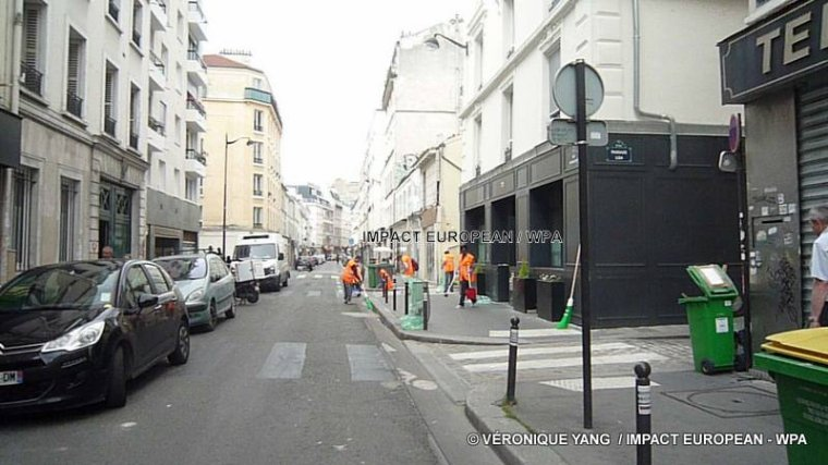 """Journée du """"Grand Nettoyage""""  à Paris"""