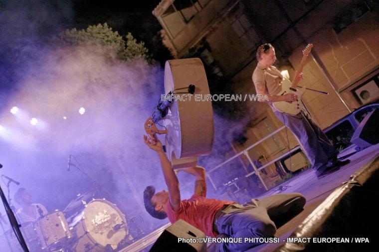 The Spunyboys en concert à Agde