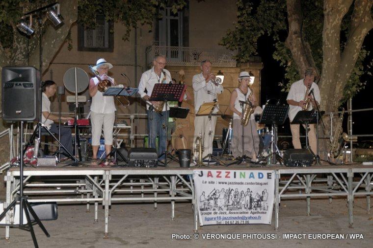 Jazzinade en concert à Agde