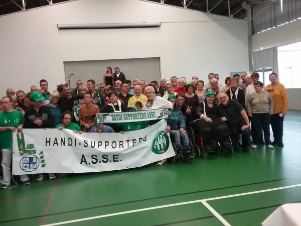 Repas Handi-Supporters ASSE