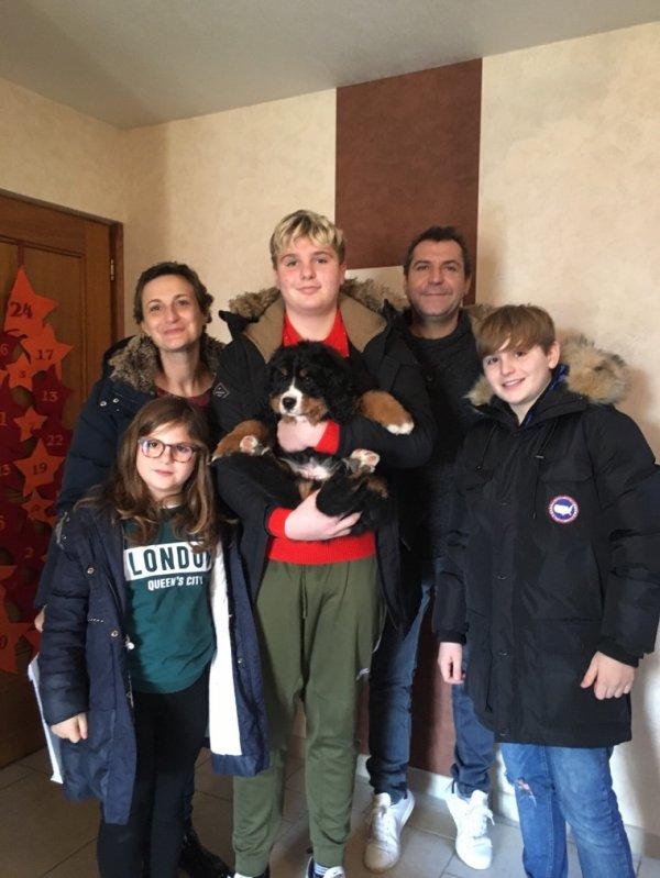 Notre dernier bb OOP'S est partie dans sa nouvelle famille