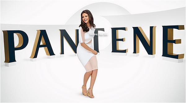 15/06/2015 : La nouvelle est tombée aujourd'hui, Selena est la nouvelle ambassadrice de la marque Pantene, Découvrez le shoot !
