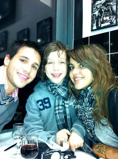 Damien, Léo et Marina