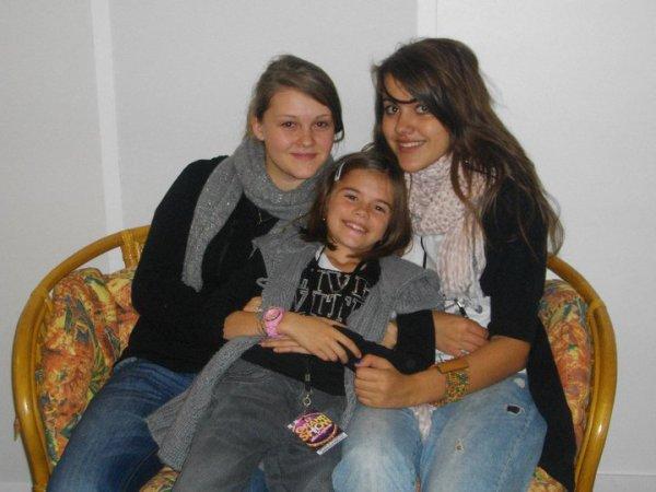 Marjolaine, Juliette et Marina