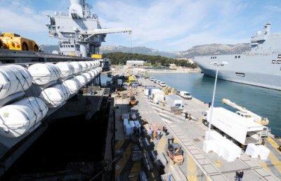 Libye : appareillage du porte-avions Charles de Gaulle