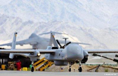 Bagram: 400 missions - 4 000 heures de vol pour le systeme Harfang