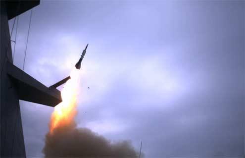 Première en Europe : interception d'une cible supersonique évoluant au ras de l'eau