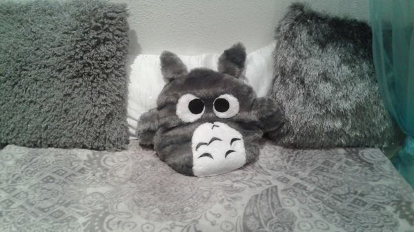 ♥ Ma peluche Totoro 100% made in moi ♥